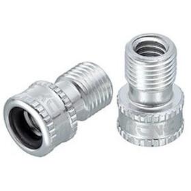 KCNC Adaptador de Válvula Presta a Schrader, silver